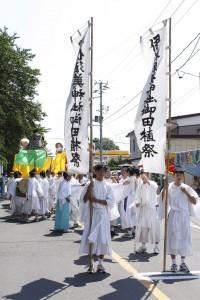 伊佐須美神社御田植祭写真